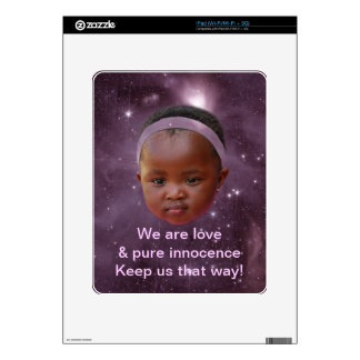 Children are pure love skins for the iPad