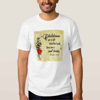 Children Are Real Blessing Shirt