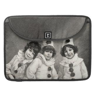 Children Arlequin Costume Clown German Kaulbach Sleeve For MacBooks