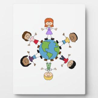 Children Around The World Plaque