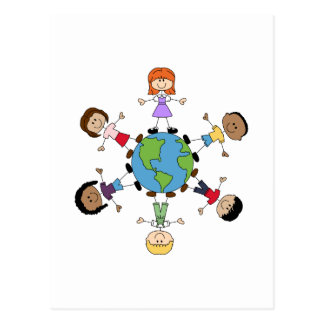 Children Around The World Postcard