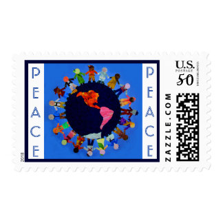 """Children around the World"" United States Postage"