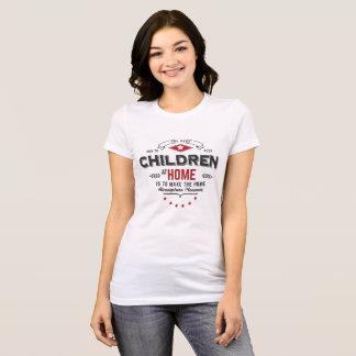 children at home tshirt