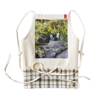 Children at natural pool zazzle HEART apron
