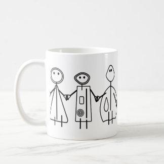 Children Black Design Customizable Mug