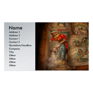 Children - Books - Fairy tales Double-Sided Standard Business Cards (Pack Of 100)