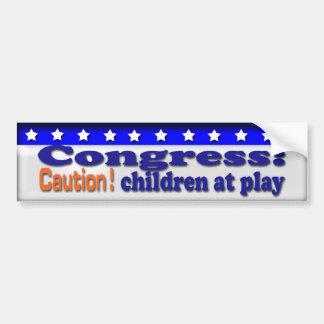 Children Car Bumper Sticker