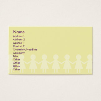 Children - Business Business Card