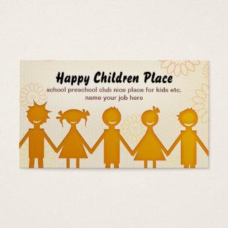children business card