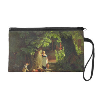 Children by a Brook, c.1822 (oil on panel) Wristlet Purses