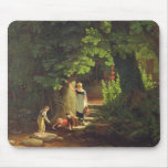 Children by a Brook, c.1822 (oil on panel) Mouse Pad
