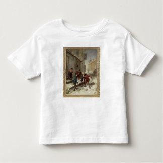 Children Chasing a Rat Toddler T-shirt