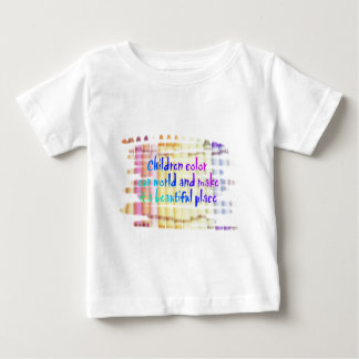 children color our world baby T-Shirt