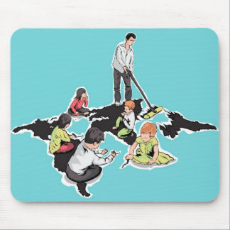 Children create Adults destroy Mouse Pad