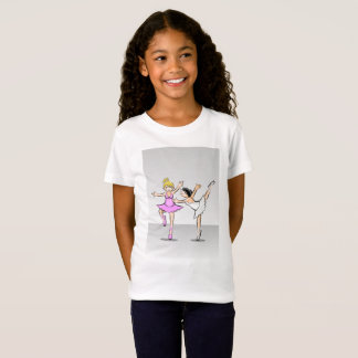 Children dancing ballet with a spectacular style T-Shirt