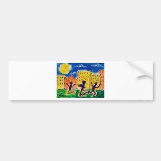 Children Dancing by Piliero Bumper Sticker