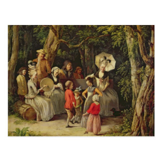 Children Dancing Postcard