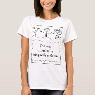 children drawing woman t-shirt