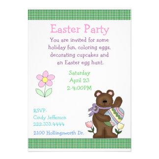 Children Easter Party Invitation