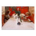 Children Eating Supper (1905) Cards