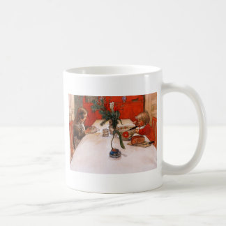 Children Eating Supper Coffee Mug