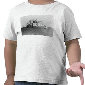 Children Enjoying Playground Swingset Shirts