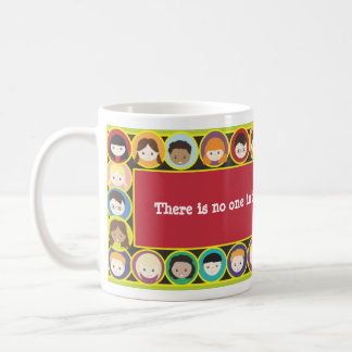 Children Faces Diversity Teacher Personalize Coffee Mug