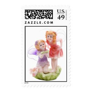 Children Fairies Postage Stamp