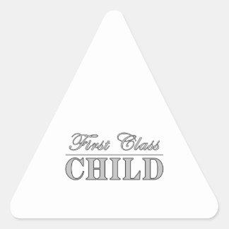 Children First Class Child Triangle Sticker