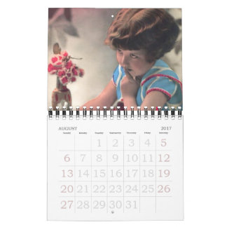 Children From the Past August 2017 - July 2018 Calendar