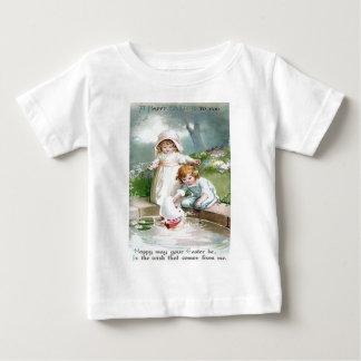 Children Garden Fountain Tree Baby T-Shirt