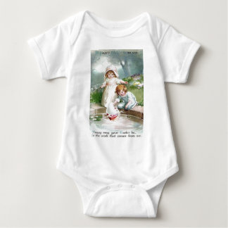 Children Garden Fountain Tree T-shirt