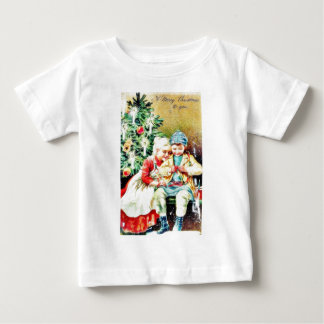 Children getting ready for Christmas night by prep T Shirts