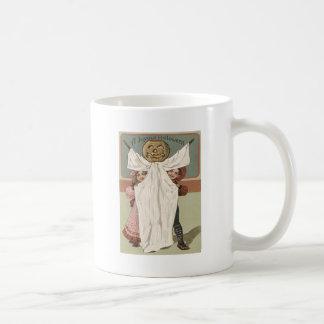 Children Ghost Jack O' Lantern Pumpkin Coffee Mug