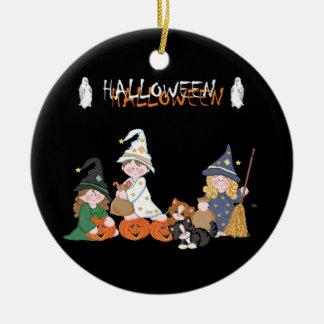 Children � Halloween - Ceramic Ornament