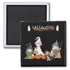Children � Halloween - Magnet at Zazzle