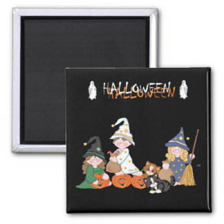 Children � Halloween - Magnet