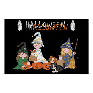 Children � Halloween - Poster