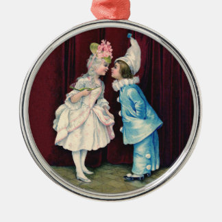 Children in Costume Ornament, 18th century outfits Metal Ornament