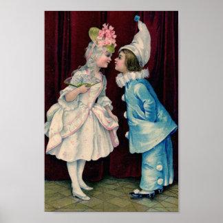 Children in Costume Poster
