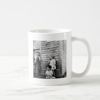Children in Poverty: 1930s Coffee Mug