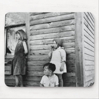 Children in Poverty: 1930s Mouse Pad