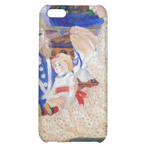 Children in the afternoon in Wargemont by Renoir iPhone 5C Cover
