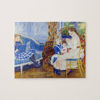 Children in the afternoon in Wargemont by Renoir Jigsaw Puzzle