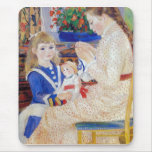 Children in the afternoon in Wargemont  by Renoir Mouse Pad