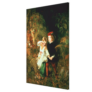 Children in the Wood Canvas Print