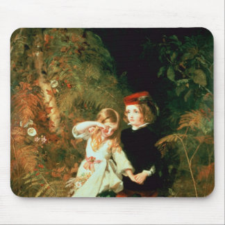 Children in the Wood Mouse Pad