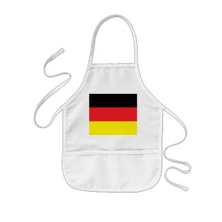Children kitchen apron with Germany flag