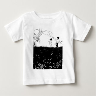 Children Looking at Castle in Clouds Shirt