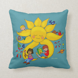 Children Matter, Teachers Care Throw Pillow